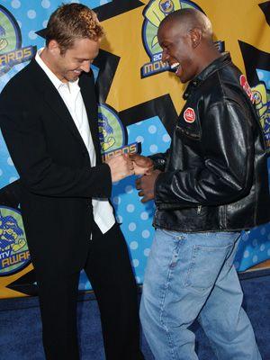 名コンビでした - ポール・ウォーカーさんとタイリース・ギブソン(写真は2003年撮影)