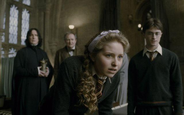 映画『ハリー・ポッターと謎のプリンス』(2008)でのジェシー・ケイヴ