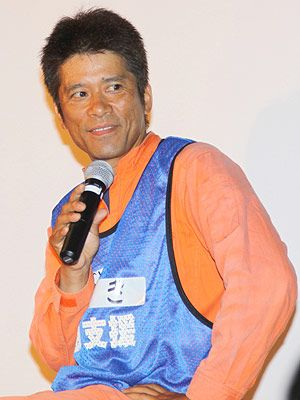 笑いをおりまぜ、被災地ボランティアへの参加を呼びかけた福島カツシゲ