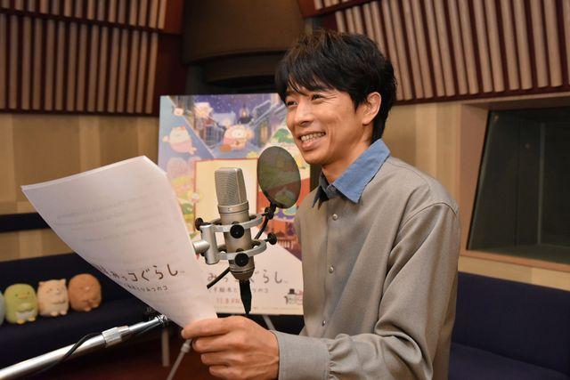 アニメ映画のナレーションは初挑戦。井ノ原快彦
