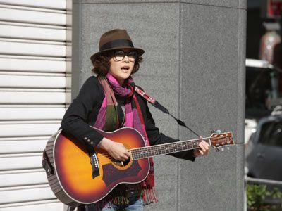 本作でギターに初挑戦した上野樹里
