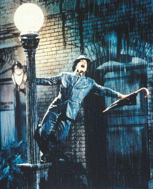 有名な雨のシーン。