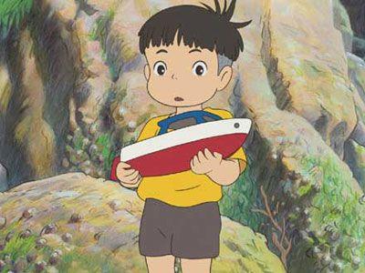 『崖の上のポニョ』の5歳の少年、宗介