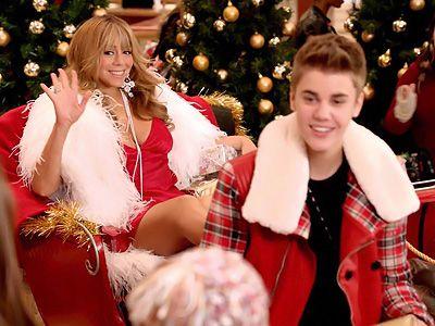 ジャスティン&マライアバージョンもいいです!-「恋人たちのクリスマス Duet with. マライア・キャリー」PVより