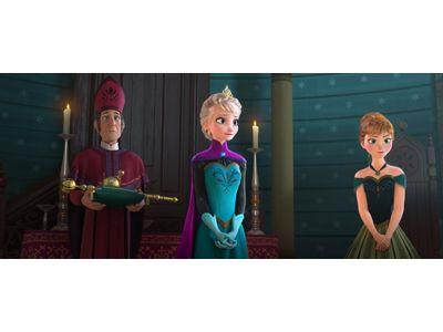 「『アバター』と比べたら勢いは違うけど、公開から6週目で首位なのは一緒よ!」 -映画『アナと雪の女王』より