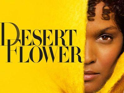 砂漠の花!