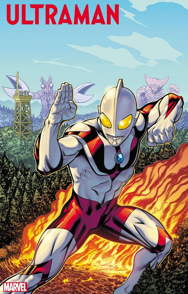 マーベルによるウルトラマンが誕生! - Ultraman artwork by Ed McGuinness and Matthew Wilson