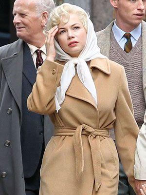 ミシェル・ウィリアムズが演じるマリリン・モンロー