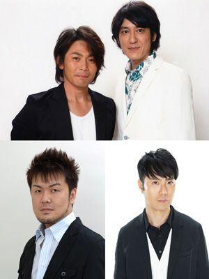 (上、左から)遠藤章造、田中直樹、(下、左から)土田晃之、藤井隆、