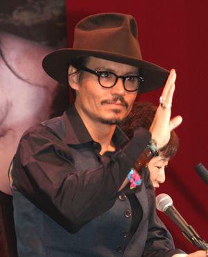 エンパイア賞主演男優賞にノミネートされたジョニー・デップ