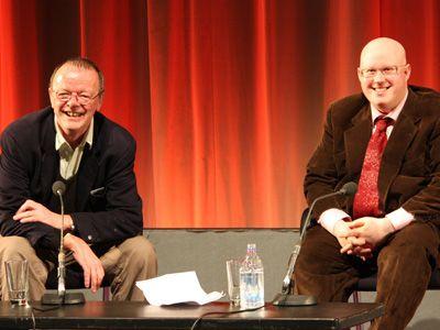 イギリスの人気コメディアン、マット・ルーカスと脚本のポール・ハラム