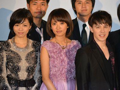 ウエンツ瑛士(右)、釈由美子(左)に冷たい?