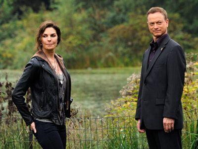 まさかのキャンセル……!! - ドラマ「CSI:ニューヨーク」ジョー・ダンヴィル役のセーラ・ウォードとマック・テイラー役のゲイリー・シニーズ