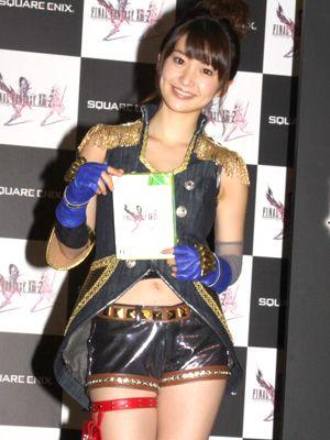 大胆衣装で登壇した大島優子