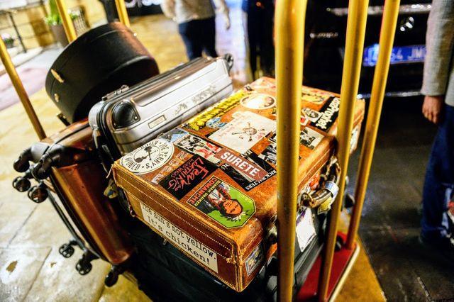 ジョニー・デップの荷物