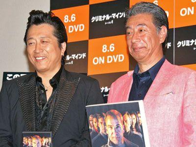高橋ジョージ(左)と高田純次