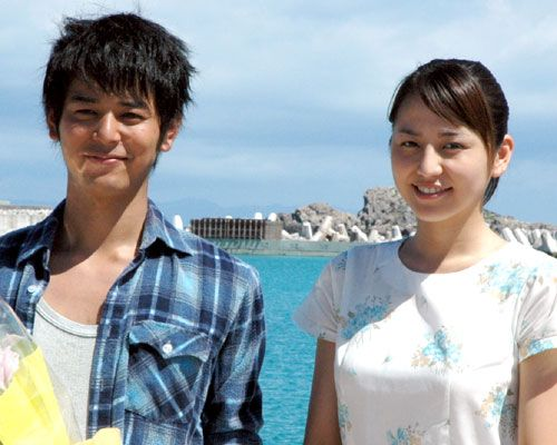 『涙そうそう』長澤まさみ、妻夫木聡、撮影現場(沖縄)クランクアップ取材