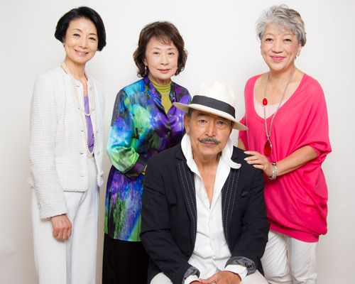 『人生、いろどり』吉行和子、富司純子、中尾ミエ、藤竜也 単独インタビュー