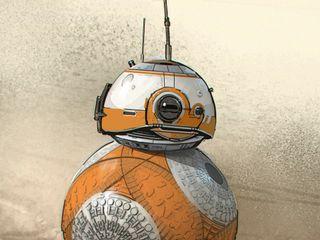 『最後のジェダイ』でも大活躍!BB-8初期イラストと振り返る誕生秘話