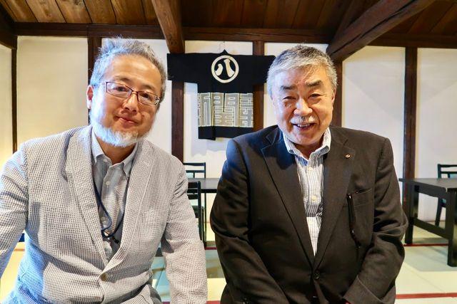里見優さんと新関芳則社長
