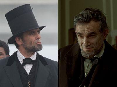 リンカーン暗殺事件を追う「リンカーンを殺した男」(左)と、リンカーンの偉業を描く『リンカーン』(右)