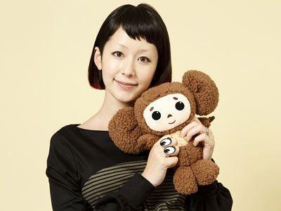 木村カエラ、大好きなチェブラーシカと一緒に!