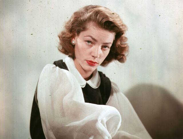 死後も人気を誇り続ける故ローレン・バコールさん(写真は1951年撮影)