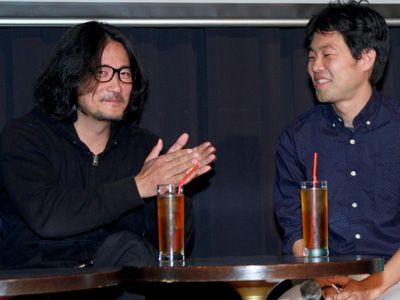 紀里谷和明監督とサキノジュンヤ監督