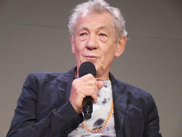 93歳のホームズを演じたイアン・マッケラン