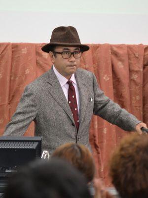 講義も三谷流!-三谷幸喜、日大藝術学部にて
