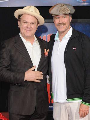 僕らの共演楽しみだろう? - ジョン・C・ライリー(左)とウィル・フェレル(右)