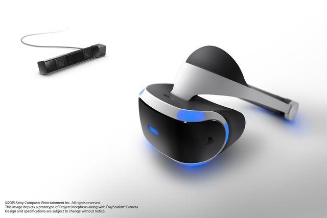 未来を感じさせるデザイン VRシステム「PlayStation VR」