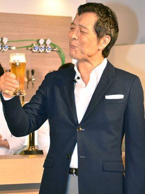 プレモルCMに9年! ビール片手に語った矢沢永吉