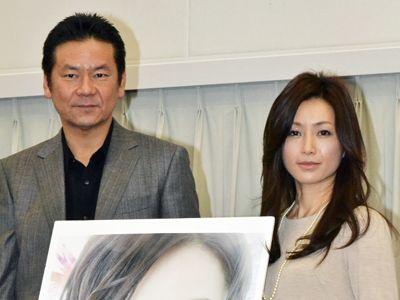 酒井法子(右)との再共演を熱望した今井雅之(左)