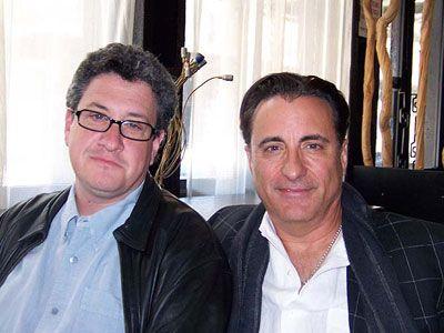 レイモンド・デ・フェリッタ監督とアンディ・ガルシア