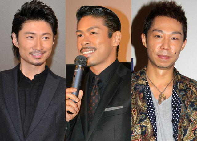 MAKIDAI、松本利夫、USA(写真左は昨年、中央・右は2013年撮影)