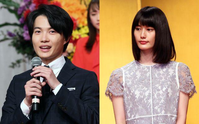 発表会見に登場した神木隆之介(左)&橋本愛