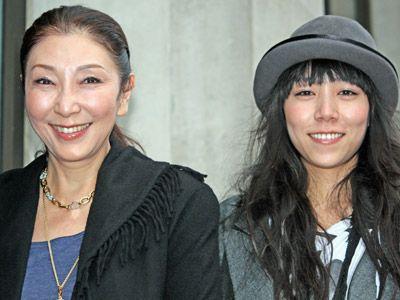 安藤和津と安藤モモ子監督-ロンドン、レインダンス映画祭にて