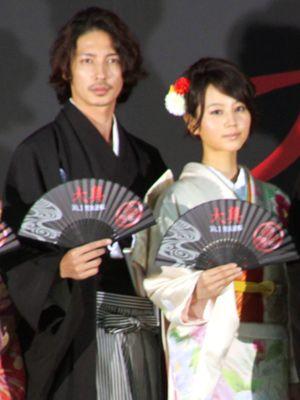 美しすぎる!!玉木宏と堀北真希