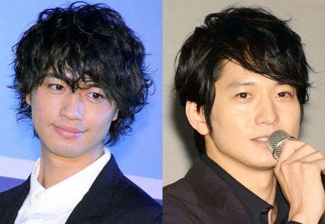 (左から)斎藤工、向井理