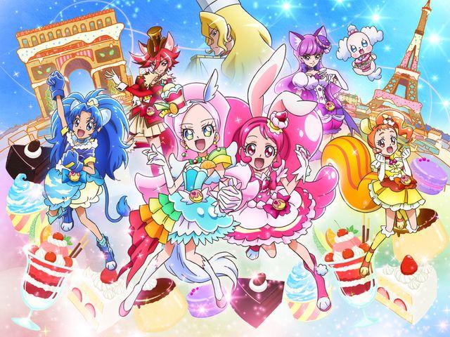 最新シリーズの劇場版である『映画 キラキラ☆プリキュアアラモード パリッと!想い出のミルフィーユ!』より