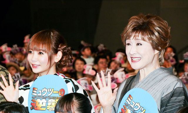中川翔子と小林幸子