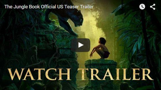 画像はYouTubeで公開された『ザ・ジャングル・ブック(原題)』海外版予告編のスクリーンショット