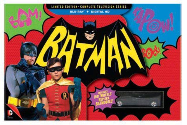 「【数量限定生産】バットマン コンプリートTVシリーズ コレクターズBOX(Blu-ray)(13枚組)」ジャケット