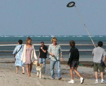 『マーリー 世界一おバカな犬が教えてくれたこと』撮影風景
