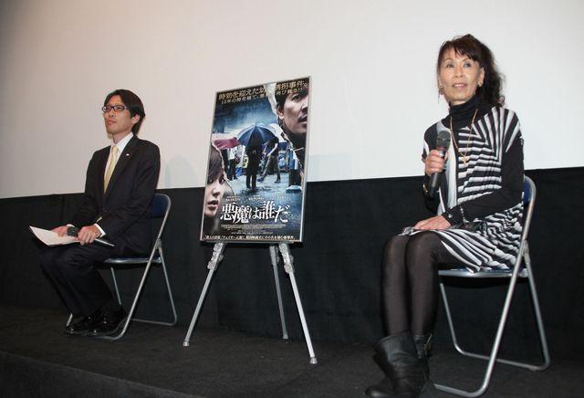韓国映画の成長に日本映画の危機を語った竹田恒泰(左)、襟川クロ