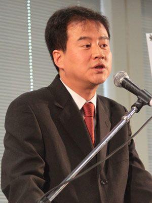 韓国映画界の国際戦略を解説したKOFICのハン・サンヒ氏