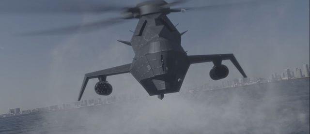 武装ヘリ「グレイゴースト」が首都を強襲!