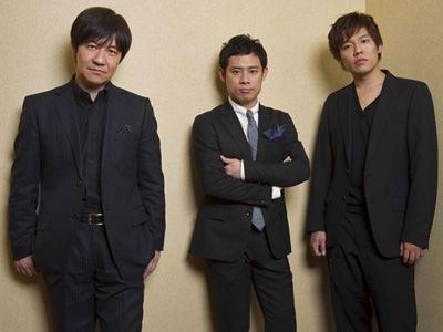 左から内村光良監督、伊藤淳史、小出恵介