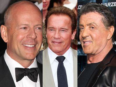 強者が3人そろうと…… - ブルース・ウィリス、アーノルド・シュワルツェネッガー、シルヴェスター・スタローン